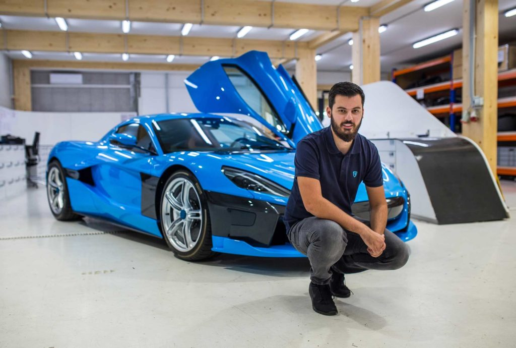 I shot portraits of Mate Rimac and The C_TWO for The Financial Times!!